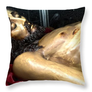 Figueres Spain Church Of St.peter Throw Pillow