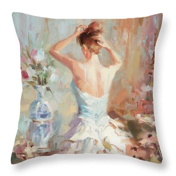 Figurative II Throw Pillow
