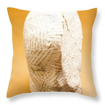 Figurative Poetry Throw Pillow