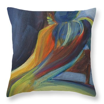 Figure II Throw Pillow