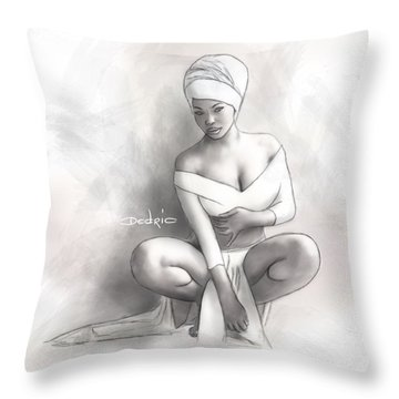 Figure Study 1 Throw Pillow
