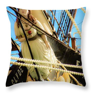 Figurehead - Falls Of Clyde Throw Pillow