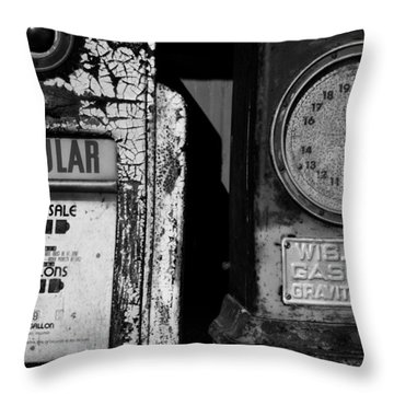 Fill Er Up Throw Pillow
