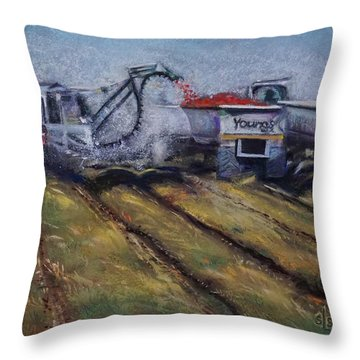 Fill'er Up Throw Pillow