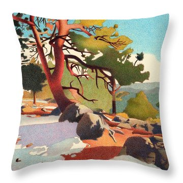 Fillius Ridge Throw Pillow