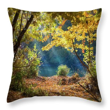 Filtered Light 3 Throw Pillow