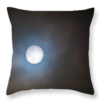 Filtered Sun Throw Pillow by David Gn