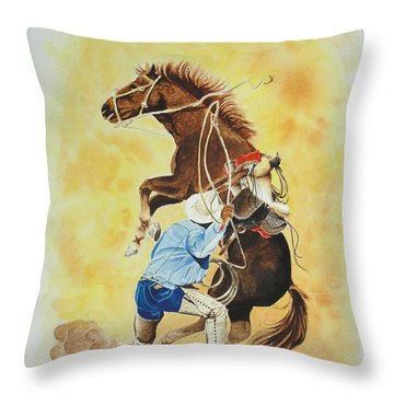 Final Appeal Throw Pillow by Jimmy Smith