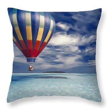 Final Destination Throw Pillow