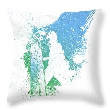 Final Fantasy 7 Throw Pillow