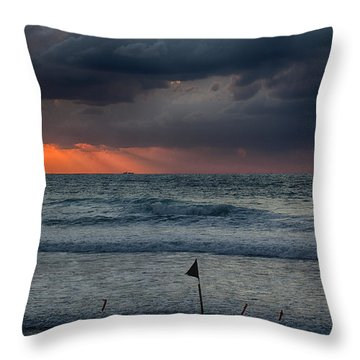 Final Light Throw Pillow