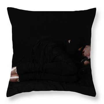 Throw Pillow featuring the photograph Final Rest by Nancy Taylor
