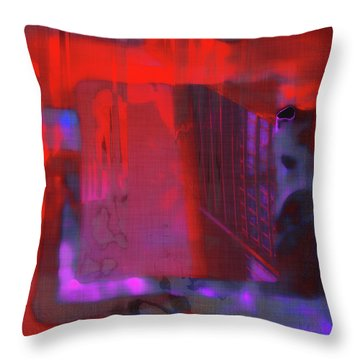 Throw Pillow featuring the digital art Final Scene - Before The Bell by Wendy J St Christopher
