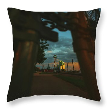 Final Stage Throw Pillow