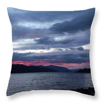 Final Touch Throw Pillow