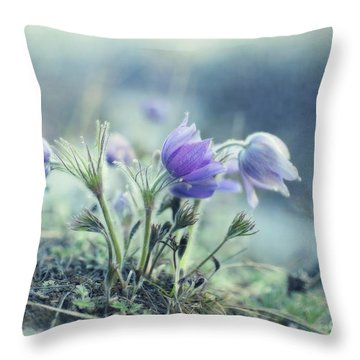 Finally Spring Throw Pillow
