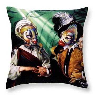 Finamorata Throw Pillow by Patrick Anthony Pierson
