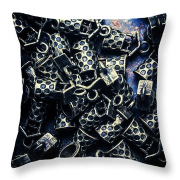 Financial Luck Throw Pillow