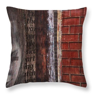 Find Me Throw Pillow