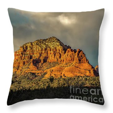 Find The Church Throw Pillow by Jon Burch Photography