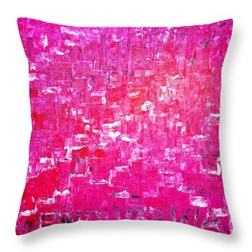 Throw Pillow featuring the painting Find Ur Way by Piety Dsilva