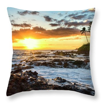 Find Your Beach 2 Throw Pillow