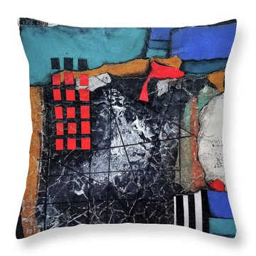 Finding Good Direction II Throw Pillow