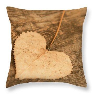 Finding Hearts Throw Pillow by Ana V Ramirez