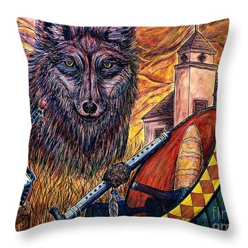 Finding Ones' Way Throw Pillow