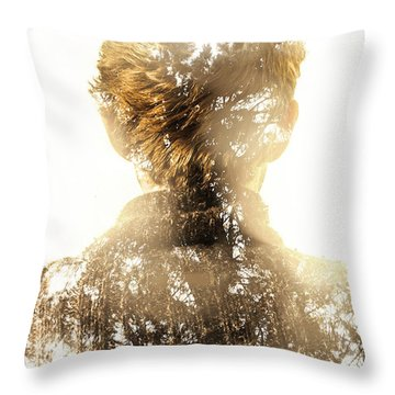 Finding Spirit Within Throw Pillow