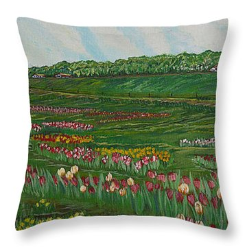 Finding The Way To You - Spring In Emmental Throw Pillow