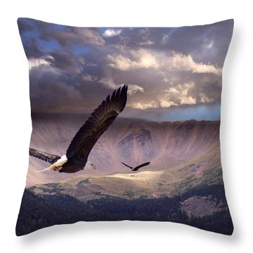 Finding Tranquility Throw Pillow