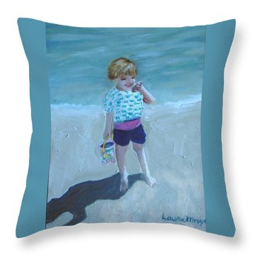 Finding Treasure Throw Pillow