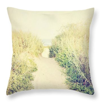 Throw Pillow featuring the photograph Finding Your Way by Trish Mistric