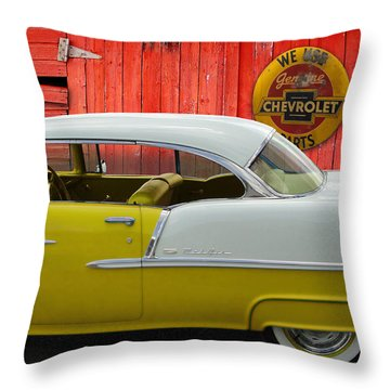 Fine 55 Throw Pillow