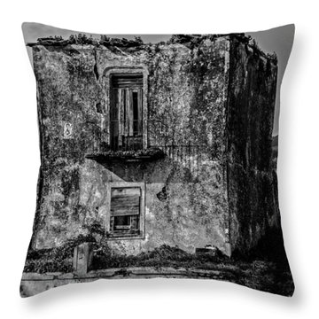Fine Art Back And White234 Throw Pillow