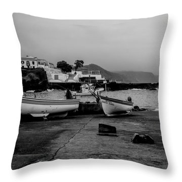 Fine Art Back And White252 Throw Pillow