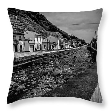 Throw Pillow featuring the photograph Fine Art Back And White261 by Joseph Amaral