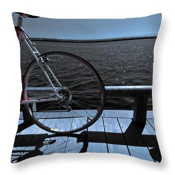 Throw Pillow featuring the photograph Fine Art Colour-102 by Joseph Amaral