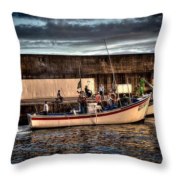 Fine Art Colour-137 Throw Pillow