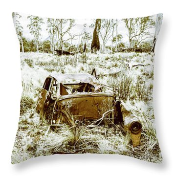 Fine Art Tasmania Bushland Throw Pillow
