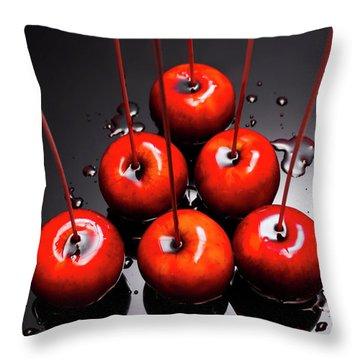 Fine Art Toffee Apple Dessert Throw Pillow