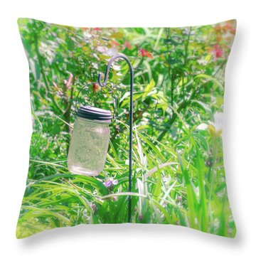 Throw Pillow featuring the photograph Fine Creek No. 1 by Laura DAddona