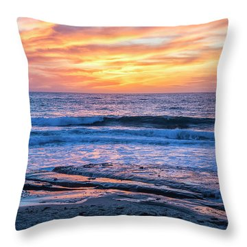 Fine End To The Day Throw Pillow