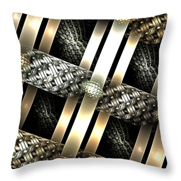 Fine Jewelry Throw Pillow