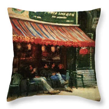 Fine Teas And Coffees Throw Pillow