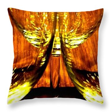 Fine Wine And Dine 3 Throw Pillow