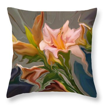 Finery Throw Pillow by Corey Ford