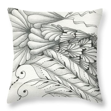 Finery Throw Pillow
