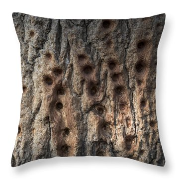 Finger Punch Throw Pillow
